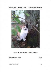 Revue Musique Thérapie Communication n°56